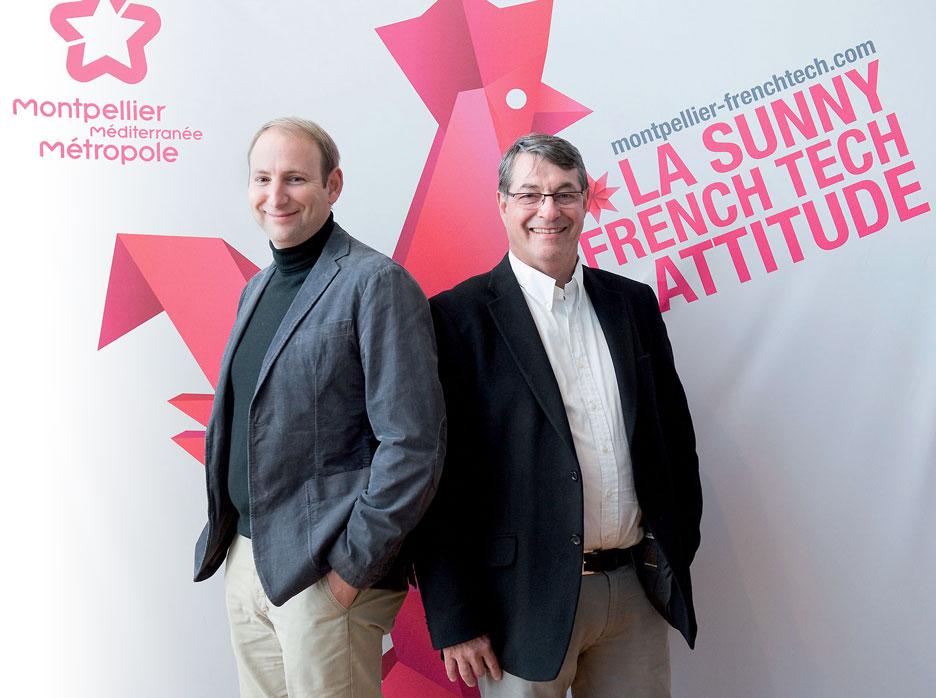 Laurent Rachez et Eric Matifas, fondateurs de BIMer Services