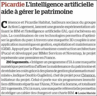 Clésence-Picardie Habitat L'intelligence artificielle aide à gérer le patrimoine